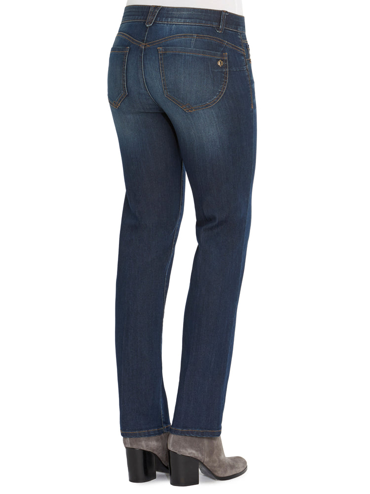 """Ab""solution Straight Leg Indigo Jeans"