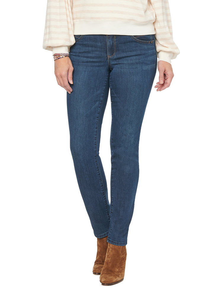 "Indigo Wash ""Ab""solution® Straight Leg Jean"