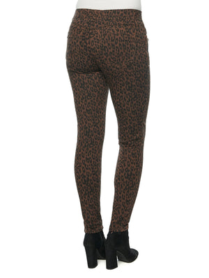 "Load image into Gallery viewer, ""Ab""solution Side Zip Leopard Print Petite Jegging"