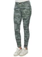 "Stretch Camouflage ""Ab""solution® Side Zip Jegging Pant"