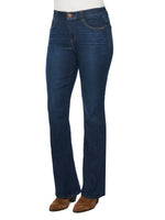 """Ab""solution High Rise Itty Bitty More Boot Indigo Jean"
