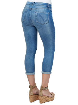 "Modern ""Ab""solution High Rise Crop Luxe Jeans"