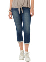 "Modern ""Ab""solution High Rise Crop Jeans Embroidered Pocket"