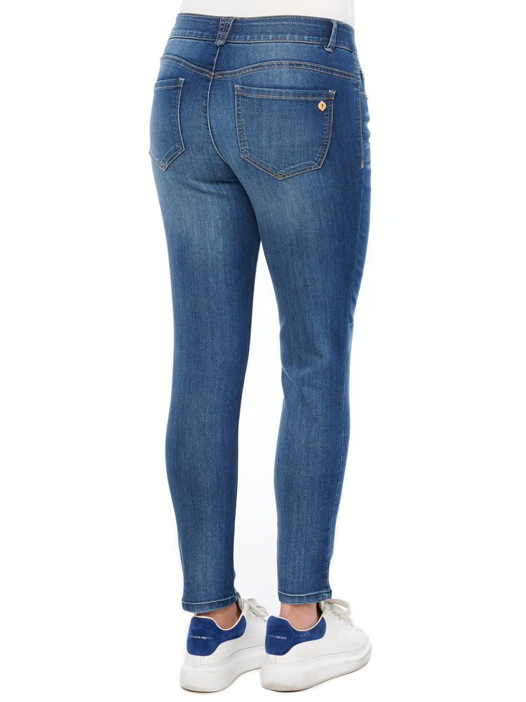"""Ab""solution Ankle Length Jegging Blue Jeans"