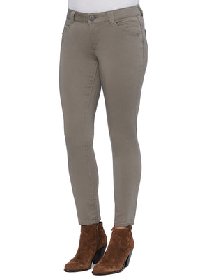 colored jegging brindle olive beige