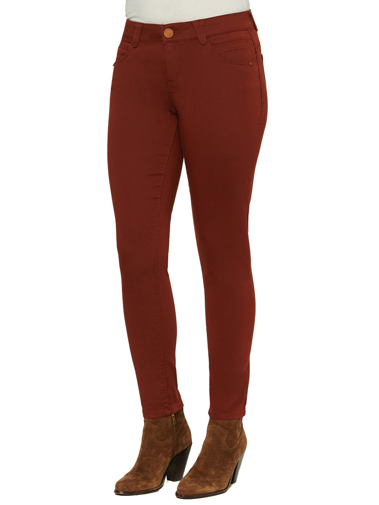 absolution colored jegging cayenne pepper burnt orange skinny jeans