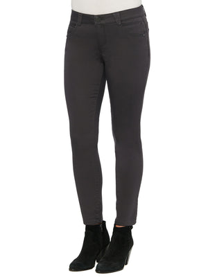 colored jeggings dark licorice color jeans butt lifting jegging