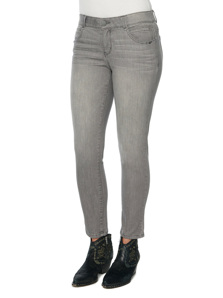 absolution ankle length stretch grey jeans jegging