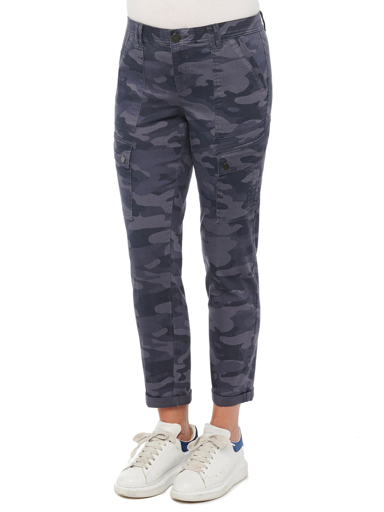 """Ab""solution Camo Roll Cuff Utility Cargo Pants"