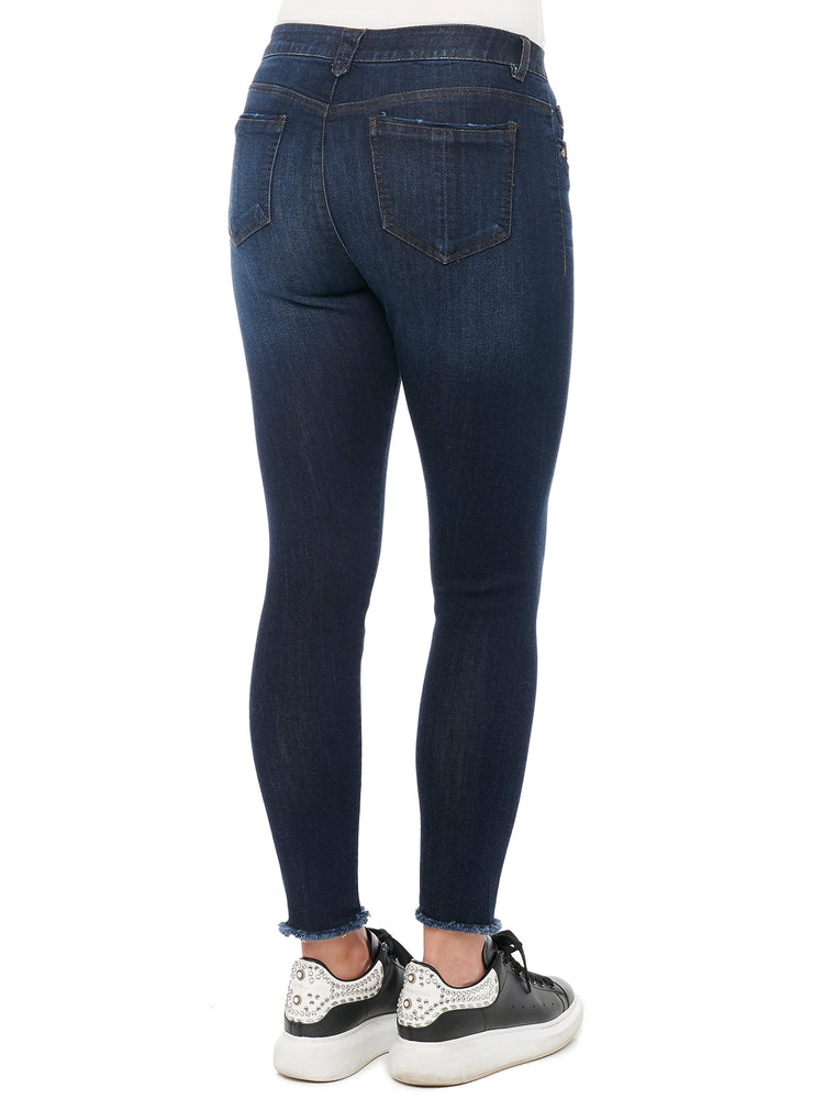 """Ab""solution High Rise Seamless Indigo Luxe Touch Ankle Skimmer"