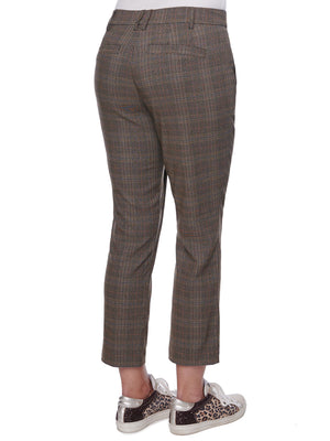 "Load image into Gallery viewer, ""Ab""solution Yarn Dye Plaid High Rise Trouser"