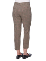"""Ab""solution High Rise Plaid Trouser"