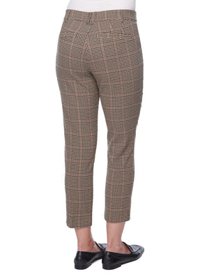 "Load image into Gallery viewer, ""Ab""solution High Rise Plaid Trouser"