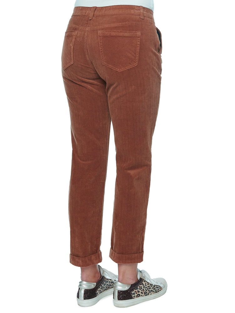"""Ab""solution Stretch Corduroy Trouser Roll Cuff"
