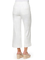 """Ab""solution High Rise White Crop Pant"