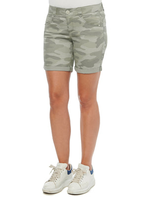"absolution 7"" inseam stretch camo camouflage shorts stormy sea"