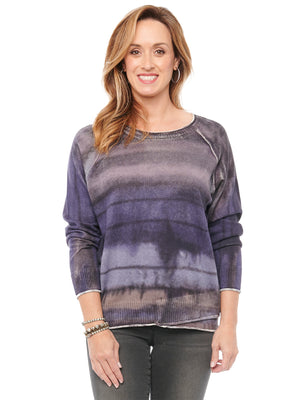 Long Sleeve Tie Dye Sweater