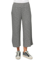 Two Pocket Gaucho Knit Pant