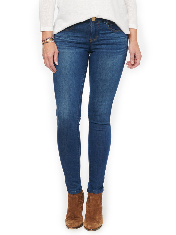 """Ab""solution Booty Lift Blue Petite Jegging"