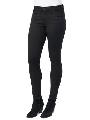 Stretch Black Denim Jeggings Absolution Booty Lift Petite Size Skinny Jeans