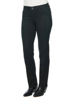"""Ab""solution Petite Straight Leg Black Jeans"