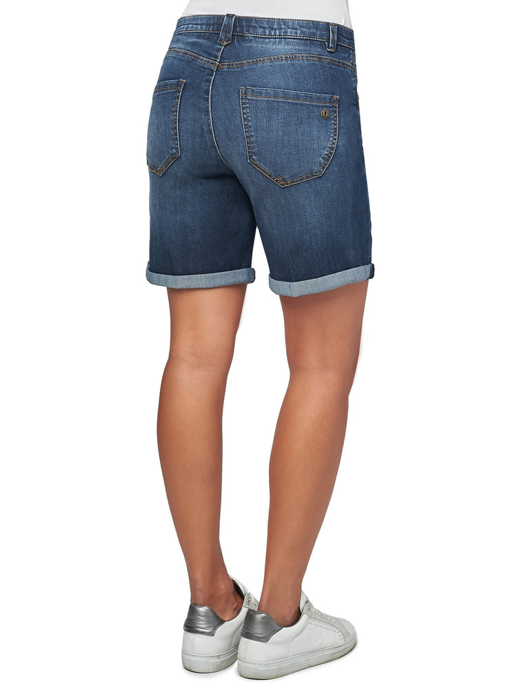 """Ab""solution Dark Indigo High Rise Short"
