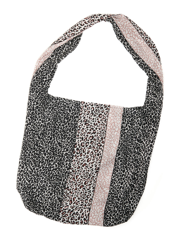 Democracy Animal Print Fabric Tote