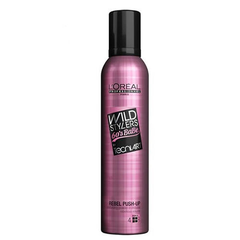L'Oréal Professionnel Tecni.ART Wild Stylers 60's Babe Rebel Push Up Mousse 250ml