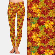 Load image into Gallery viewer, Autumn Leaves Leggings