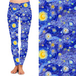 Faux Starry Night Leggings