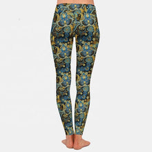 Load image into Gallery viewer, Green Multi Paisley Leggings