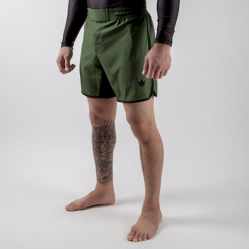 Kingz Army Shorts side view