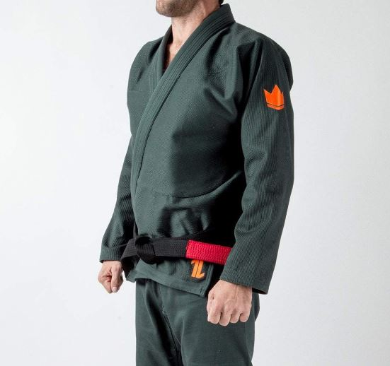 The ONE Kids Jiu Jitsu Gi - Forest Green LIMITED EDITION- FREE White Belt