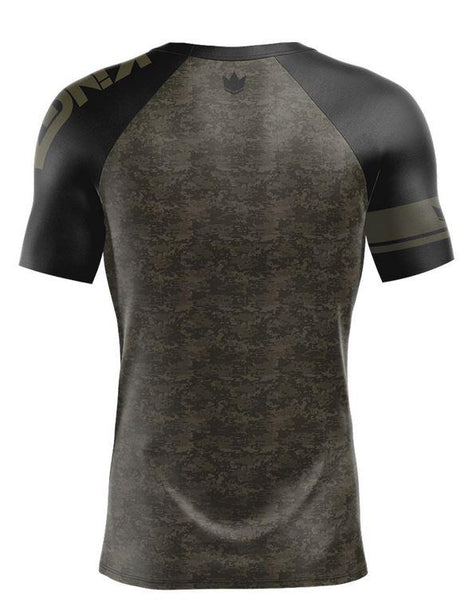 Kingz Digital Camo S/S Rash Guard