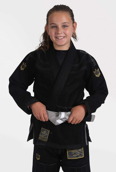 Kids Comp V5 Jiu Jitsu Gi-Black