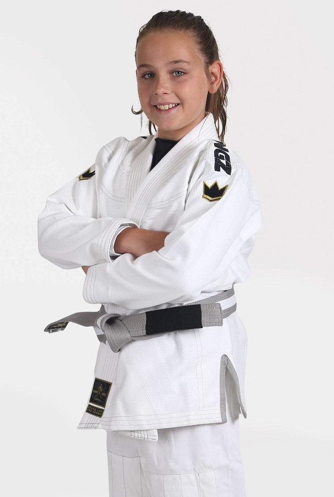 Kids Comp V5 Jiu Jitsu Gi - White