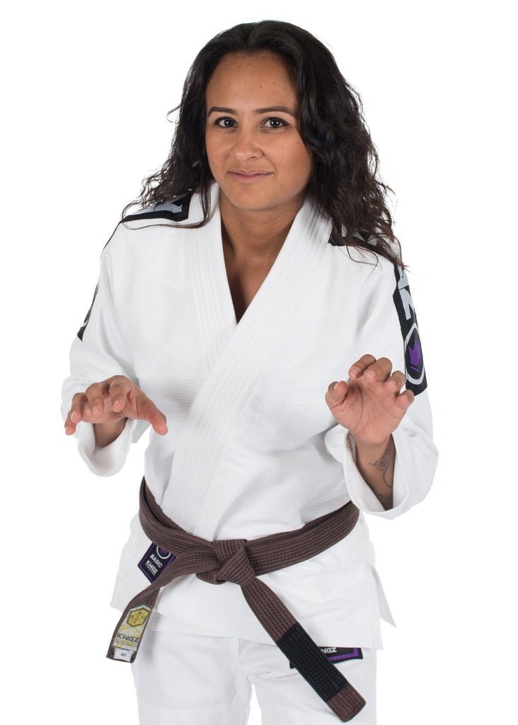 Basic 2.0 Womens Jiu Jitsu Gi - White