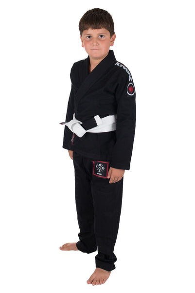 Kids Basic 2.0 Jiu Jitsu Gi - Black - W/ Free White Belt
