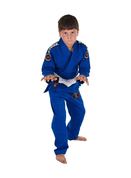 Kids Basic 2.0 Jiu Jitsu Gi - Blue - W/ Free White Belt