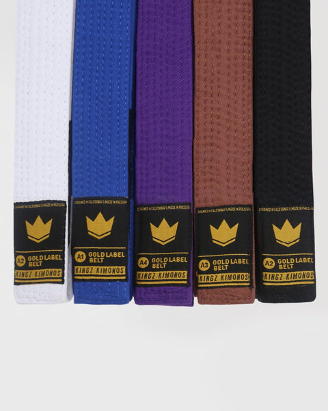 Gold Label V2 BJJ Belts
