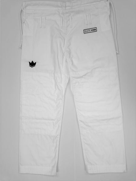 Kingz Women's Rip Stop Pants-White