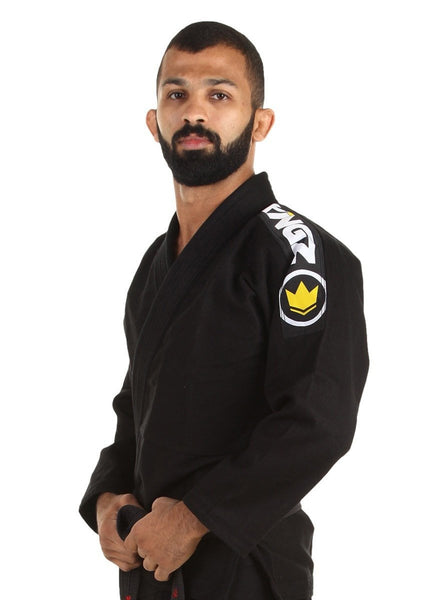 Basic 2.0 Jiu Jitsu Gi - Black - FREE White Belt