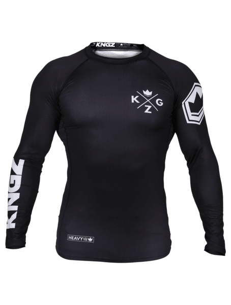 Ranked V3 L/S Rash Guard - Black