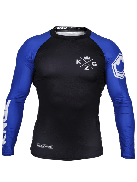 Ranked V3 L/S Rash Guard - Blue