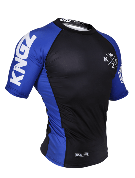 Ranked V3 S/S Rash Guard - Blue