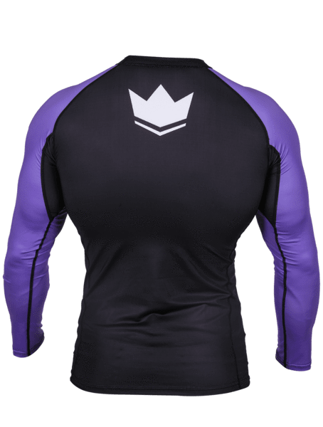 Ranked V3 L/S Rash Guard - Purple