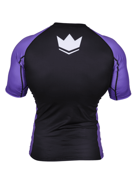 Ranked V3 S/S Rash Guard - Purple