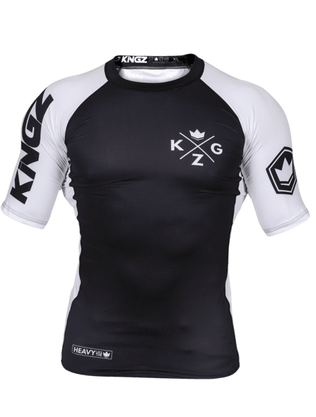 Ranked V3 S/S Rash Guard - White