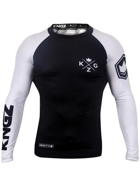 Ranked V3 L/S Rash Guard - White