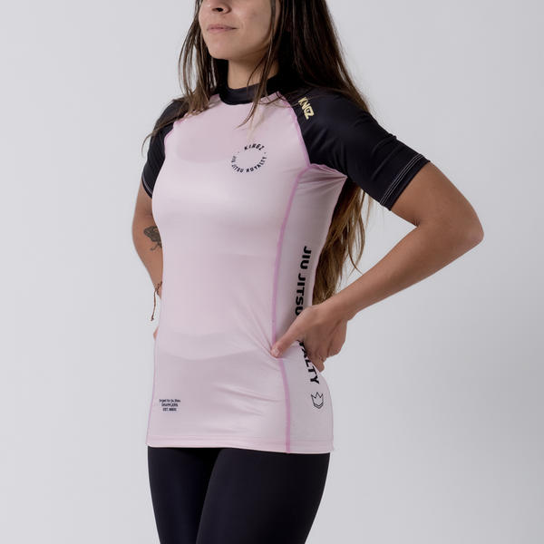 Kingz Born To Rule Women's S/S Rashguard - Fighters Market